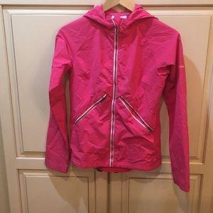 Columbia omni-shielf raincoat waterproof 14-16